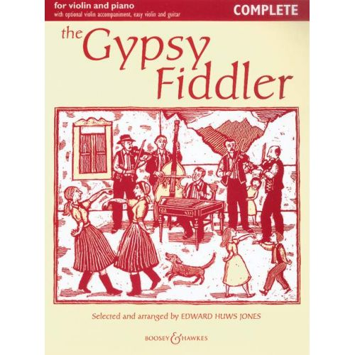 BOOSEY & HAWKES THE GIPSY FIDDLER - VIOLON, PIANO