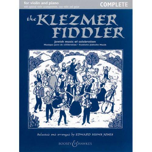 BOOSEY & HAWKES THE KLEZMER FIDDLER - VIOLON ET PIANO