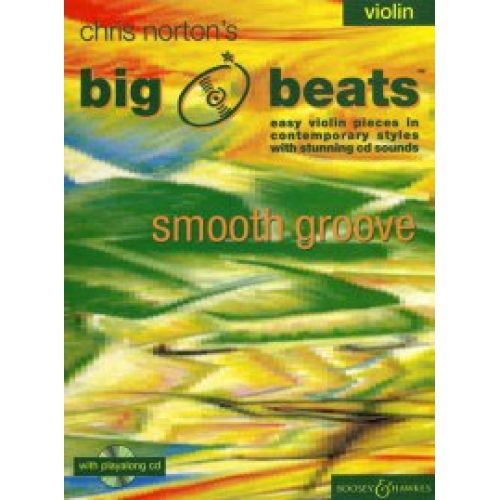 BOOSEY & HAWKES NORTON CHRISTOPHER - BIG BEATS SMOOTH GROOVE + CD - VIOLON