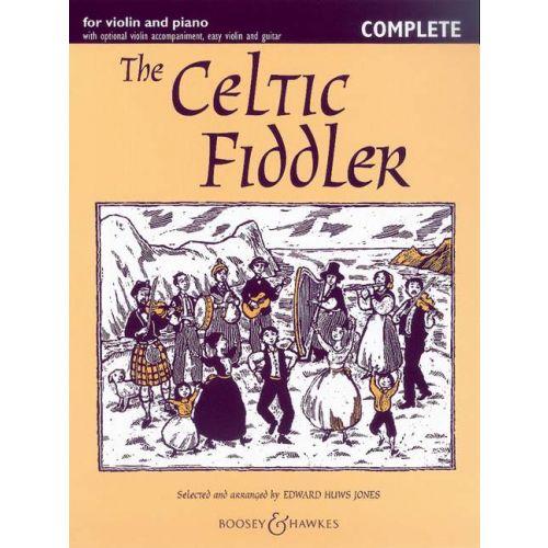 BOOSEY & HAWKES THE CELTIC FIDDLER - VIOLON, PIANO + CD