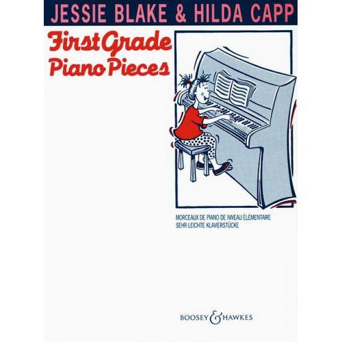 BOOSEY & HAWKES BLAKE JESSIE - FIRST GRADE PIANO PIECES - PIANO