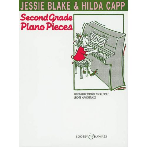 BOOSEY & HAWKES BLAKE JESSIE - SECOND GRADE PIANO PIECES - PIANO