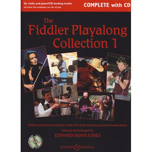 BOOSEY & HAWKES THE FIDDLER PLAYALONG COLLECTION + CD - VIOLON