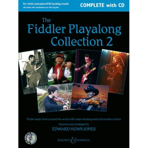 BOOSEY & HAWKES THE FIDDLER PLAYALONG COLLECTION VOL. 2 - VIOLIN AND PIANO, GUITAR AD LIB.
