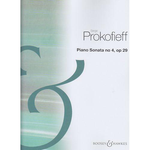 BOOSEY & HAWKES PROKOFIEV SERGE - PIANO SONATA N°4 OP.29