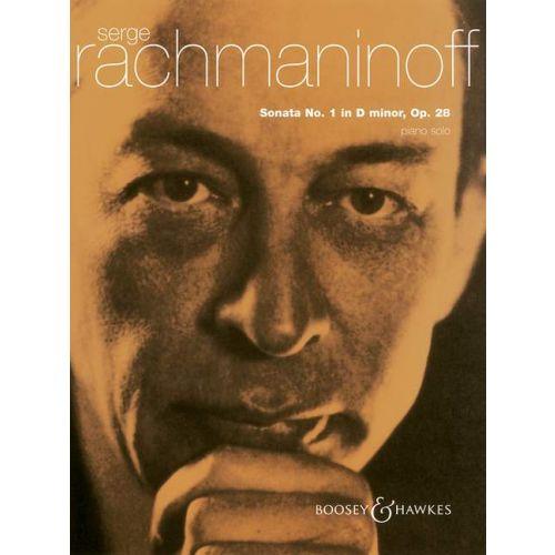 BOOSEY & HAWKES RACHMANINOFF SERGEI WASSILJEWITSCH - SONATA NO. 1 IN D MINOR OP. 28 - PIANO