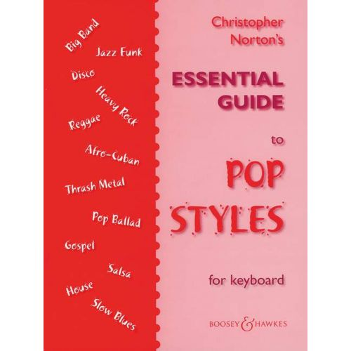 BOOSEY & HAWKES NORTON CHRISTOPHER - ESSENTIAL GUIDE TO POP STYLES - PIANO