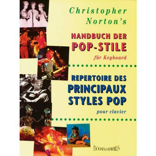 BOOSEY & HAWKES NORTON CHRISTOPHER - HANDBUCH DER POP-STILE - PIANO (KEYBOARD)