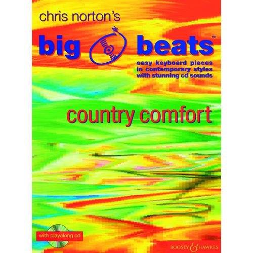 BOOSEY & HAWKES NORTON CHRISTOPHER - BIG BEATS COUNTRY COMFORT + CD - PIANO