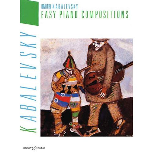 BOOSEY & HAWKES KABALEVSKY DMITRI - EASY PIANO COMPOSITIONS - PIANO