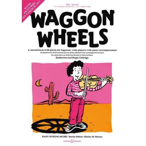 BOOSEY & HAWKES COLLEDGE K. & H. - WAGGON WHEELS (ALTO + PIANO)
