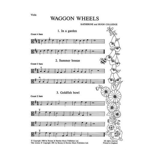 BOOSEY & HAWKES COLLEDGE K. / COLLEDGE H. - WAGGON WHEELS - VIOLA