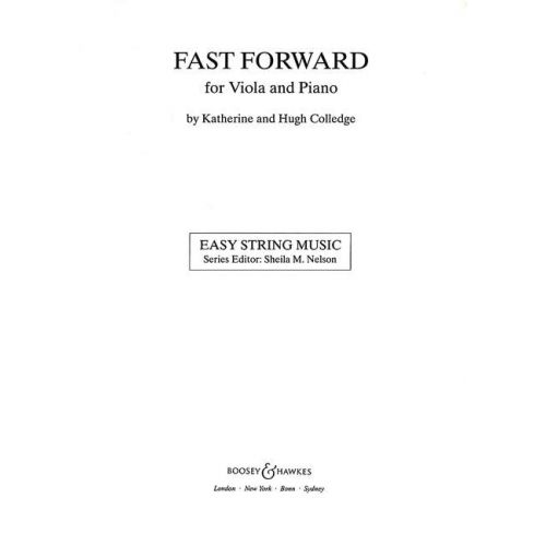 BOOSEY & HAWKES COLLEDGE K. / COLLEDGE H. - FAST FORWARD - VIOLA