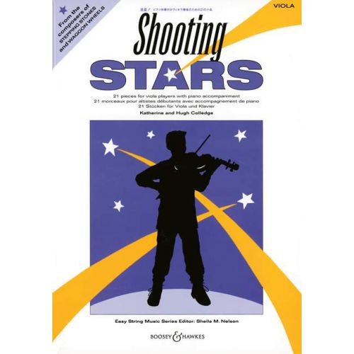 BOOSEY & HAWKES COLLEDGE K. / COLLEDGE H. - SHOOTING STARS - VIOLA AND PIANO
