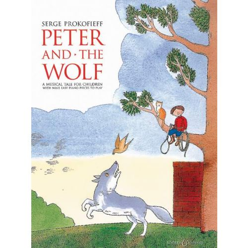 BOOSEY & HAWKES PROKOFIEV SERGEI - PETER AND THE WOLF - PIANO
