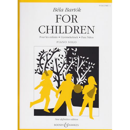BOOSEY & HAWKES BARTOK BELA - FOR CHILDREN VOL.1 (PIANO)