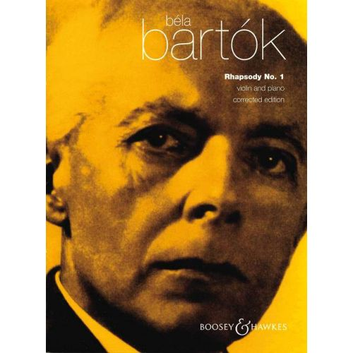 BOOSEY & HAWKES BARTOK BELA - RHAPSODIE N°1 - VIOLON ET PIANO