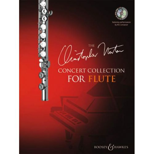 BOOSEY & HAWKES NORTON CHRISTOPHER - CONCERT COLLECTION FOR FLUTE + CD - FLUTE AND PIANO
