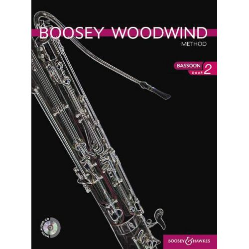 BOOSEY & HAWKES THE BOOSEY WOODWIND METHOD BASSOON VOL. 2 + CD - BASSOON