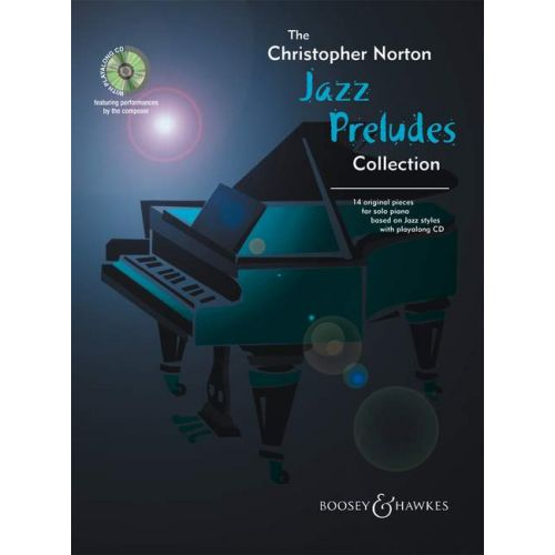 BOOSEY & HAWKES NORTON CHRISTOPHER - JAZZ PRELUDES COLLECTION + CD - PIANO