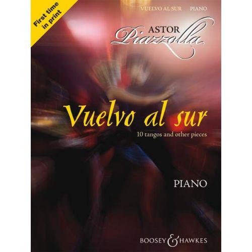 BOOSEY & HAWKES PIAZZOLLA ASTOR - VUELVO AL SUR - PIANO