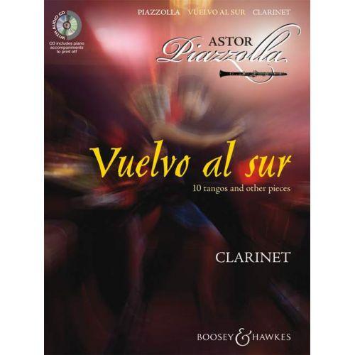 BOOSEY & HAWKES PIAZZOLLA ASTOR - VUELVO AL SUR + CD CLARINETTE