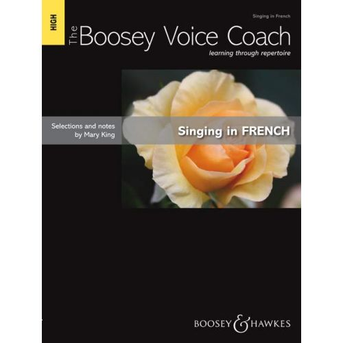 SCHOTT KING MARY - THE BOOSEY VOICE COACH - HIGH VOICE AND PIANO