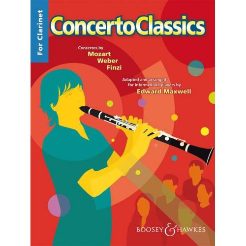 BOOSEY & HAWKES CONCERTO CLASSICS FOR CLARINET - CLARINET AND PIANO