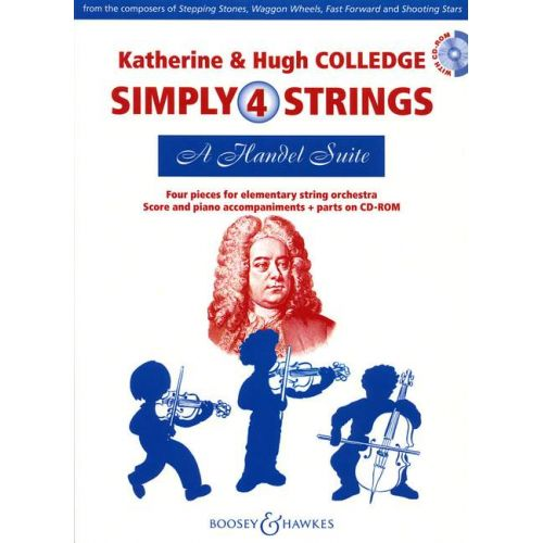 BOOSEY & HAWKES COLLEDGE HUGH / COLLEDGE KATHERINE - A HANDEL SUITE - STRING ORCHESTRA