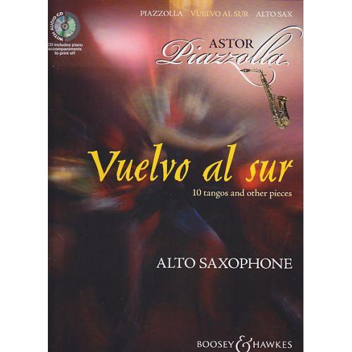 BOOSEY & HAWKES PIAZZOLLA A. - VUELVO AL SUR - SAXOPHONE ALTO + CD