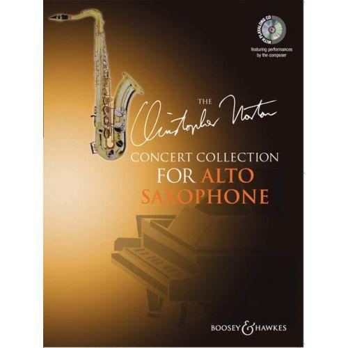 BOOSEY & HAWKES NORTON CHRISTOPHER - CONCERT COLLECTION FOR ALTO SAXOPHONE + CD - ALTO SAXOPHONE AND PIANO