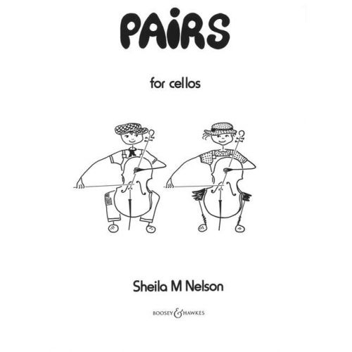BOOSEY & HAWKES NELSON SHEILA MARY - PAIRS - 2 CELLOS