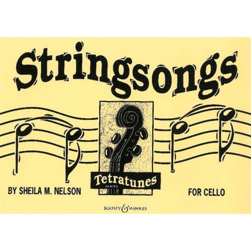 BOOSEY & HAWKES NELSON SHEILA M. - STRINGSONGS - CELLO