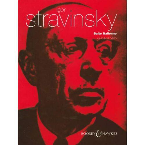 BOOSEY & HAWKES STRAVINSKY IGOR - SUITE ITALIENNE - CELLO AND PIANO