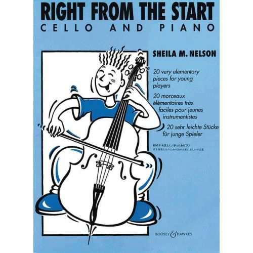 BOOSEY & HAWKES RIGHT FROM THE START - CELLO AND PIANO