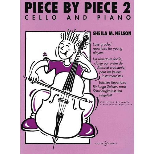BOOSEY & HAWKES PIECE BY PIECE VOL. 2 - CELLO AND PIANO