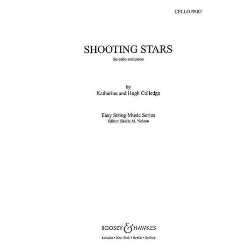 BOOSEY & HAWKES COLLEDGE KATHERINE & HUGH - SHOOTING STARS - CELLO