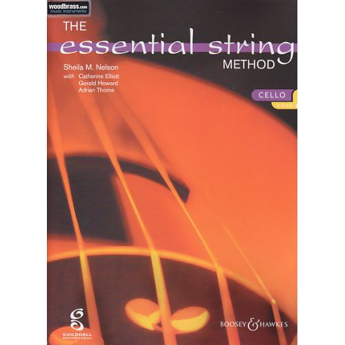BOOSEY & HAWKES SHEILA MARY NELSON - THE ESSENTIAL STRING METHOD VOL. 2 - VIOLONCELLE