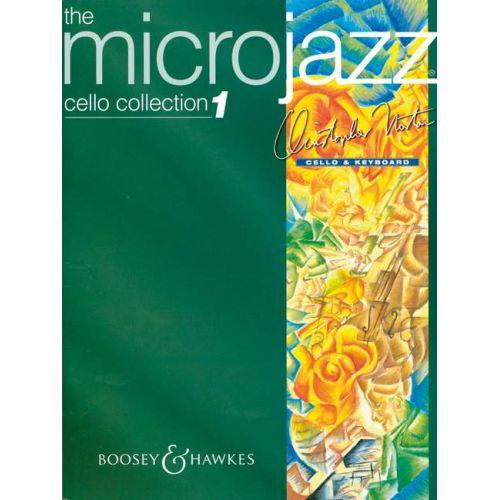 BOOSEY & HAWKES NORTON CHRISTOPHER - MICROJAZZ VIOLONCELLO COLLECTION VOL. 1 - CELLO AND PIANO