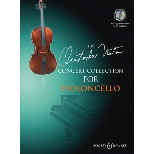 BOOSEY & HAWKES NORTON CHRISTOPHER - CONCERT COLLECTION FOR CELLO + CD - CELLO AND PIANO