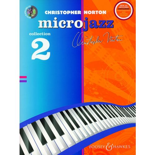 BOOSEY & HAWKES NORTON CHRISTOPHER - MICROJAZZ COLLECTION 2 + CD - PIANO
