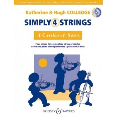 BOOSEY & HAWKES COLLEDGE KATHERINE & HUGH - SIMPLY 4 STRINGS - A CARIBBEAN SUITE