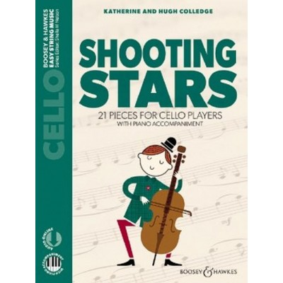BOOSEY & HAWKES COLLEDGE K. AND H. - SHOOTING STARS - VIOLONCELLE & PIANO + ONLINE AUDIO