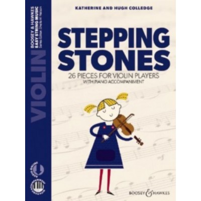 BOOSEY & HAWKES COLLEDGE - STEPPING STONES - VIOLON