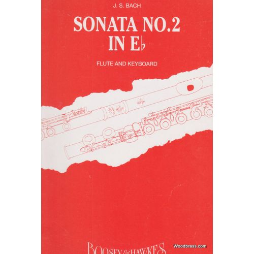 BOOSEY & HAWKES BACH J.S. - SONATA N°2 IN Eb BWV1031 - FLUTE AND PIANO