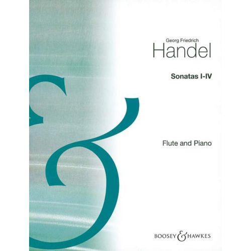 BOOSEY & HAWKES HANDEL GEORG FRIEDRICH - SONATAS I-IV VOL. 1 - FLUTE AND PIANO