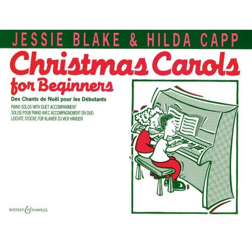 BOOSEY & HAWKES CHRISTMAS CAROLS FOR BEGINNERS - PIANO