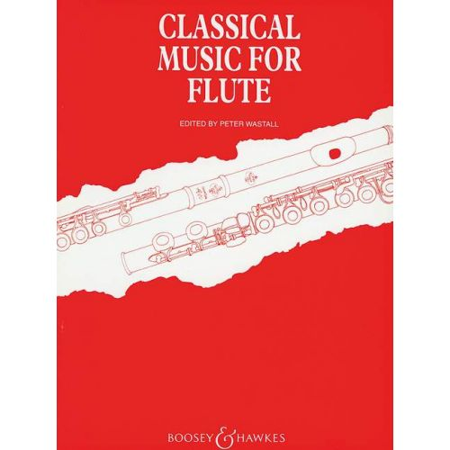 BOOSEY & HAWKES CLASSICAL MUSIC FOR FLUTE - FLUTE AND PIANO