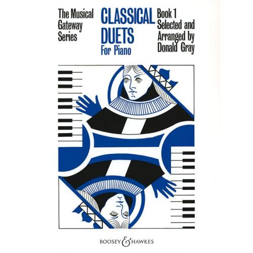 BOOSEY & HAWKES CLASSICAL DUETS VOL. 1 - PIANO