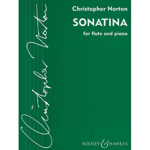 BOOSEY & HAWKES NORTON CHRISTOPHER - SONATINA - FLUTE ET PIANO